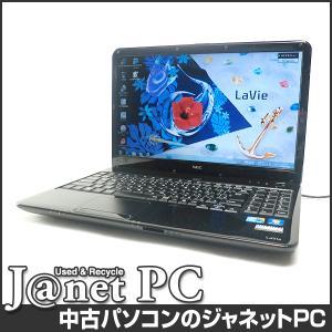 中古ノートパソコン Windows7 15.6型ワイド液晶 Core i5-430M 2.26GHz RAM4GB HDD500GB DVDマルチ 無線 Office付属 NEC LS550/AS【1136】 janetpc