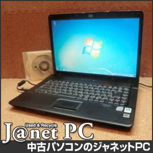 中古ノートパソコン Windows7 15.4型ワイド液晶 Core2Duo 2.26GHz RAM2GB HDD160GB DVDマルチ 無線 Office付属 hp 6730s【1485】|janetpc