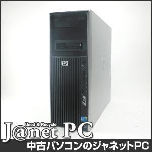 中古パソコン Windows7 Xeon X5680 3.30GHz RAM24GB HDD500GB DVDマルチ nVidia Quadro1800 Office付属 hp Z400 Worlstation【1519】|janetpc