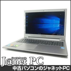 中古ノートパソコン Windows10 15.6型ワイド液晶 Core i7-3632QM 2.20GHz RAM8GB HDD1TB ブルーレイ 無線 Office付属 lenovo IdeaPad Z500【2380】|janetpc