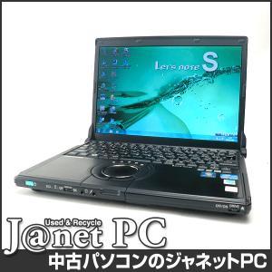 中古ノートパソコン Windows7 12.1型ワイド液晶 Core i5-2520M 2.50GHz RAM4GB HDD500GB DVDマルチ 無線 Office付属 Panasonic CF-S10AYBDR【2381】|janetpc