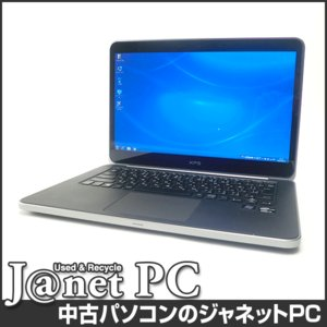 中古ノートパソコン Windows7 14型ワイド液晶 Core i7-3537U 2.0GHz RAM8GB SSD512GB Geforce GT 630M 無線 Office付属 DELL XPS L421X【2426】|janetpc