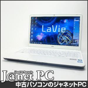 中古ノートパソコン Windows7 15.6型ワイド液晶 Core i5-3210M 2.50GHz RAM8GB HDD750GB ブルーレイ 無線 Office付属 NEC LS550/HS【2449】|janetpc