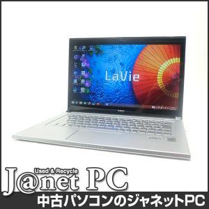 中古ノートパソコン Windows8.1 13.3型フルHD液晶 Core i5-4210U 1.70GHz RAM4GB SSD128GB タッチパネル HDMI 無線 Office付属 NEC LZ650/SSS【2461】|janetpc