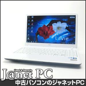 中古ノートパソコン Windows7 15.6型ワイド液晶 Celeron P4500 1.86GHz RAM4GB HDD320GB DVDマルチ 無線 Office付属 NEC LS150/BS【272】 janetpc