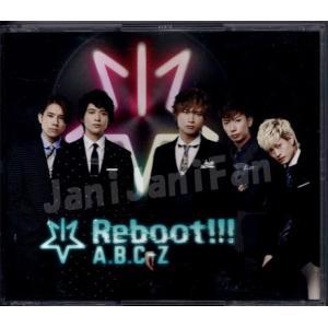 CD+DVD(3枚組) ★★ A.B.C-Z 2017 「Reboot!!!」 初回限定5周年Best盤 [abdv041]|janijanifan