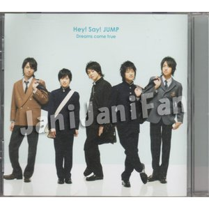 CD ★ Hey!Say!JUMP 2008 シングル 「Dreams come true」 通常盤 [hsdv005] janijanifan