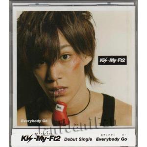 CD ★ Kis-My-Ft2 2011 シングル 「Everybody Go」 キスマイショップ限定(千賀健永ver.) ※未開封・キーホルダー付|janijanifan