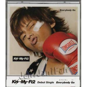 CD ★ Kis-My-Ft2 2011 シングル 「Everybody Go」 キスマイショップ限定(藤ヶ谷太輔ver.) ※特典付|janijanifan