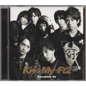 CD+DVD ★ Kis-My-Ft2 2011 シングル 「Everybody Go」 初回生産限定盤A [kmdv010]|janijanifan