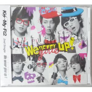 CD ★ Kis-My-Ft2 2011 シングル 「We never give up!」 キスマイショップ限定 ※未開封・特典付[kmdv014]|janijanifan