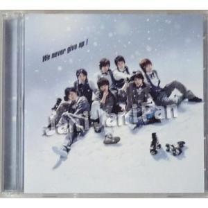 CD+DVD ★ Kis-My-Ft2 2011 シングル 「We never give up!」 初回生産限定盤B (東京ドーム盤) [kmdv020]|janijanifan