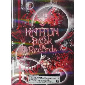 DVD(3枚組) ★★ KAT-TUN 2009 「KAT-TUN LIVE Break the Records」 初回限定盤 [ktdv128]|janijanifan
