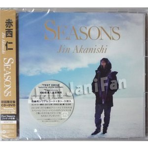 CD+DVD ★ 赤西仁 2011 シングル 「SEASONS」 初回限定盤 WINTER ※未開封 [ktdv139]|janijanifan