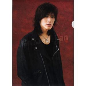 クリアファイル ★ 赤西仁 2004-2005 「KAT-TUN Live海賊帆」 [ktgd044]|janijanifan
