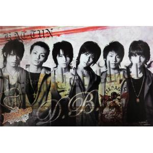 ポスター ★ KAT-TUN 2006 舞台 「DREAM BOYS」 A全横|janijanifan