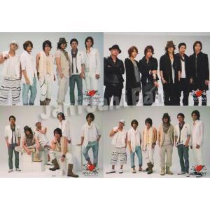 フォト4枚セット ★ KAT-TUN(集合) 2009 「SUMMER '09 Break the Records Tour」 (アリーナツアー)|janijanifan