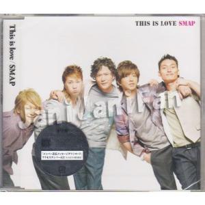 CD ★ SMAP 2010 シングル 「This is love」 通常盤 [smdv190]