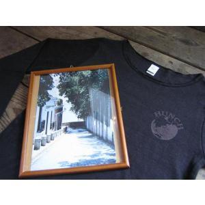 HUNCH134 レディーストップ ガーゼ風厚手コットンタイプ ロングスリーブTシャツ|janis