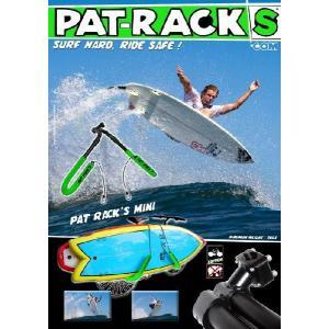 2本同時に運べる便利な PATRACKS(パットラックス) 自転車用サーフボードキャリアー PR-MINI|janis|02