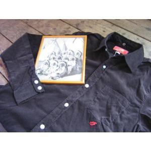 INDIANMOTOCYCLE (インディアンモーターサイクル) 社 コーディロイエポーレット長袖シャツ|janis