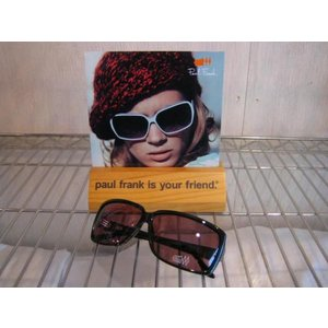 PAUL FRANK(ポールフランク)SUNGLASS サングラス 品番 HOUSE OF JEALOUS LOVERS BLACK BURGUNDY  |janis
