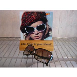 PAUL FRANK(ポールフランク)SUNGLASS サングラス 品番 MY RIVERIA BURGUNDY / SEAFORM BURGUNDY BROWN / ORANGE BURGUNDY STRIPE|janis