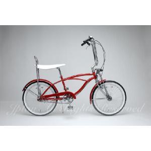 GRQ 自転車 COMPTON(コンプトン) レッド ・ パープル|janis