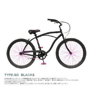 4ING 自転車 ビーチクルーザー 品番 SD  型番 BLACKS (BLACK)/CARDIFF (MINT)/MISSION (OLIVE) 26インチ|janis