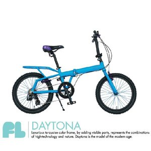 4ING 折りたたみ自転車 品番 FL  20インチ DAYTONA (TURQUOISE×PURPLE) KEYWEST (ORANGE×GREEN) MIAMI (BLACK×PINK)|janis