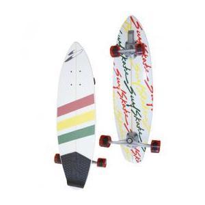 Surfskateboards (サーフスケートボード )品番The The Stunner Black / RASTA / BLACK RASTA /Ocean 36インチ|janis|02