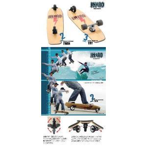 スケートボード イントロ ロードサーフィンツウィン 33|janis