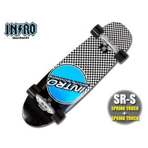 INTRO Skatebords (イントロ スケートボード) 品番 SR-S BLUE CIRCLE(ブルー・サークル)34|janis