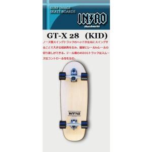 スケートボード イントロ  GT-X KID 28|janis