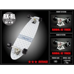 INTRO Skatebords (イントロ スケートボード) 品番 RX-R LONG(ロング) 39|janis
