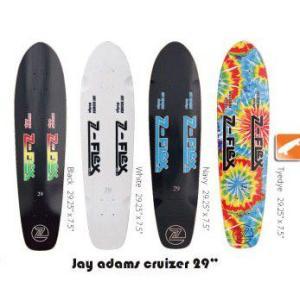 Z-FLEX Skatebords 品番 Jay Adams Cruizer 29 Complete Black / White / Tyedye / Navy|janis
