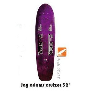 Z-FLEX Skatebords 品番 Jay Adams Cruizer 32 Complete Purple|janis