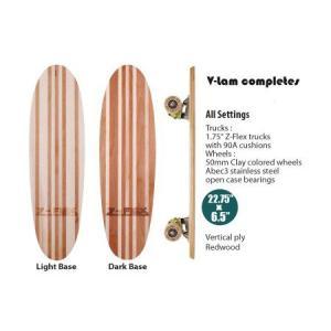 Z-FLEX Skatebords 品番 V-lam completes Light Base / Dark Base |janis