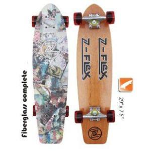 Z-Flex Skatebords Fiberglass Complete|janis