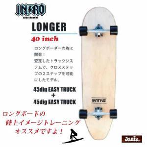 INTRO(イントロ) Skateboads Complite(スケートボードコンプリート) LONGER(ロンガー) 40|janis