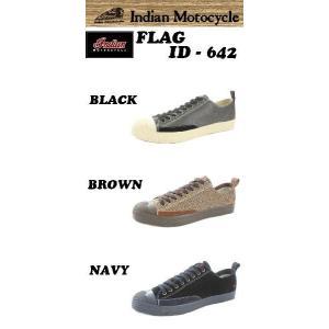 INDIANMOTOCYCLE (インディアンモーターサイクル)  スニーカー  品番 FLAG / ID-642|janis