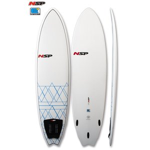 NSP surfboards  品番 Fish 7'4