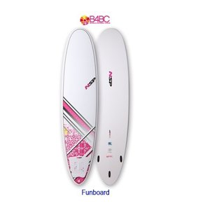 NSP surfboards ファンボード 品番 Betty Fun B4BC 7'2