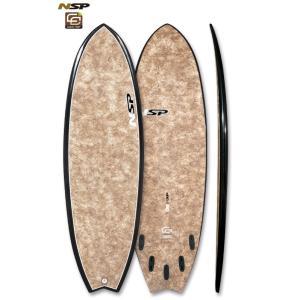 NSP surfboards  品番 CocoMat FISH 5'6
