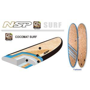 NSP surfboards  品番COCO MAT FUN 7'10