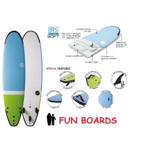 NSP surfboards  ファンボード 品番 SOFT SCHOOL FUN 7'4