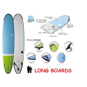 NSP surfboards ロングボード 品番 SOFT SCHOOL LONG 9'2