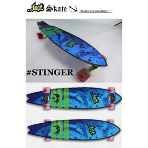 サーフ スケートボード ロスト  STINGER スティンガー 44|janis