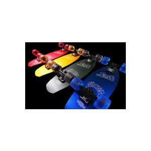 lost surf skateboard (ロスト サーフスケートボード) 品番 HESHER ALUMINUM CRUISERS BLUE/GREY/RED/GOLD|janis