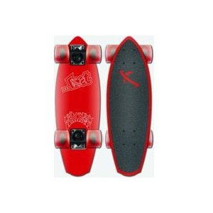 lost surf skateboard (ロスト サーフスケートボード) 品番 HESHER ALUMINUM CRUISERS BLUE/GREY/RED/GOLD|janis|04